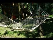 cała przyjemność w leżeniu na hamaku :-)