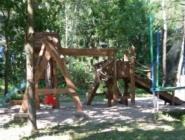 Wspaniały plac zabaw dla najmłodszych